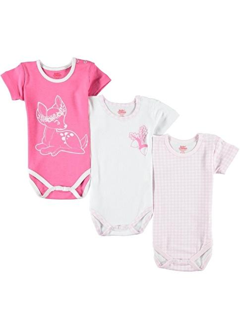 Baby Corner Body Fuşya